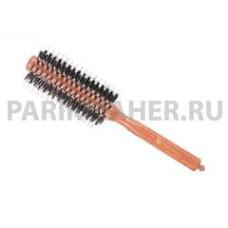 Брашинг на деревянной основе Hairway Glossy Wood. Диаметр 12, мм 8-рядный.